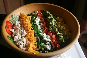 Cobb salad - Image: Cobb salad, 21 July 2008