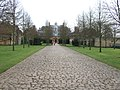 Cobblestone road in the grounds of Belton House - geograph.org.uk - 1764234.jpg