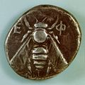 Coin of Ephesos, 2nd century BC, EFEM34P.jpg