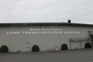 Cole Land Transportation Museum - Image: Cole Land Transportation Museum, Bangor, ME IMG 2596