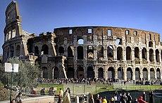 Outro ângulo do Coliseu