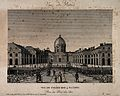 Collège des Quatre Nations, Paris; panoramic view of part of Wellcome V0014268.jpg