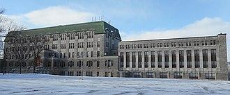 St. Charles Garnier College - Image: College Saint Charles Garnier pano