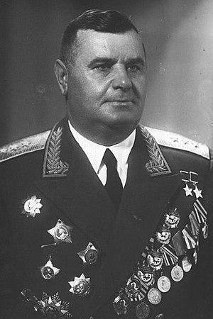 Andrei Grigoryevich Kravchenko - Image: Colonel General Andrei Kravchenko