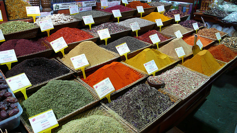 File:Colorful Spices and Teas.jpg