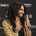 Conchita Wurst, ESC2014 Meet & Greet 11 (crop).jpg