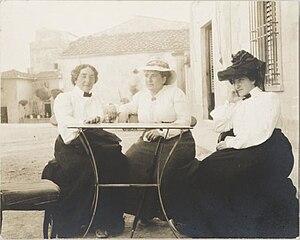 Cone sisters - Claribel Cone, Gertrude Stein, Etta Cone  1903