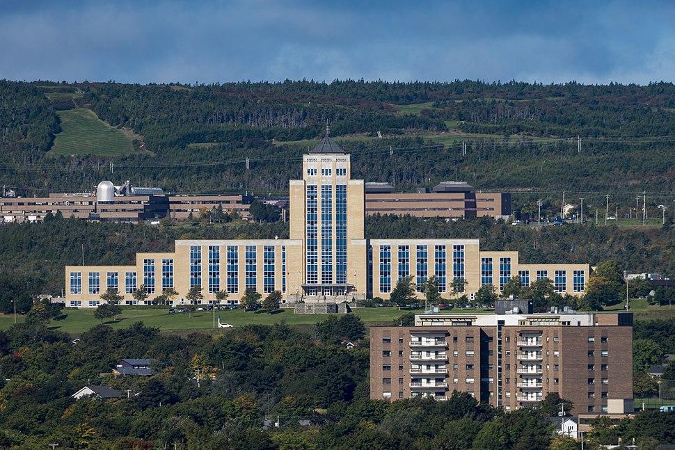 Confederation Building (front), St. John%27s, Newfoundland, Canada