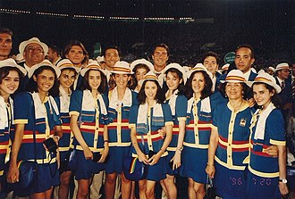 1996 Summer Olympics opening ceremony - Spain at the opening ceremony
