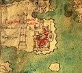 Constantinople on medieval copy of Tabula Peutingeriana 01.jpg