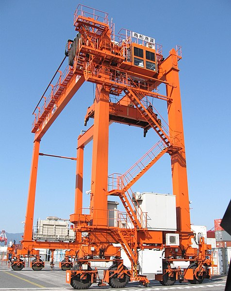 File:Container handling 6257 【 Pictures taken in Japan 】.jpg