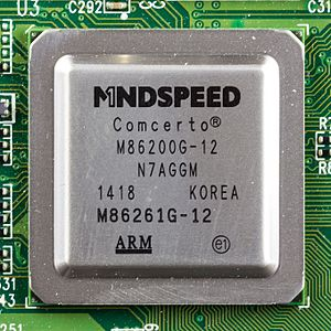 Mindspeed Technologies - Mindspeed Comcerto M86200G-12, used in WD My Cloud
