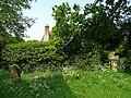 Corner of a country churchyard - geograph.org.uk - 861750.jpg