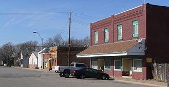 Cortland, Nebraska - Downtown Cortland: 4th Street