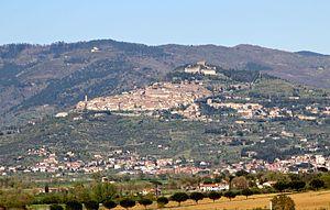 Panorama von Cortona