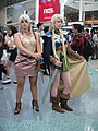Cosplayers of Deedlit and Pirotess, Record of Lodoss War at Anime Expo 2012.jpg