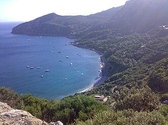 Tyrrhenian Sea - Image: Costa dello sbarcatello