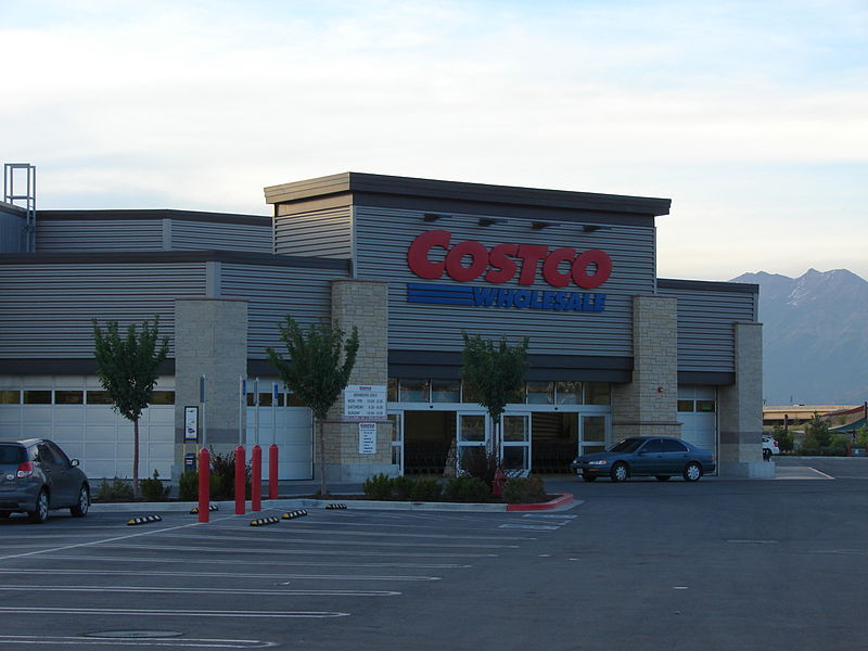 File Costco Store In Spanish Fork Utah Jpg Wikimedia Commons