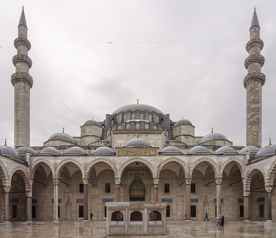 Cour mosquee Suleymaniye Istanbul