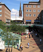 Coventry precinct and spire