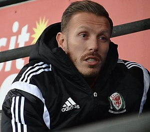 Craig Bellamy - Bellamy attending a Cardiff City match in 2014