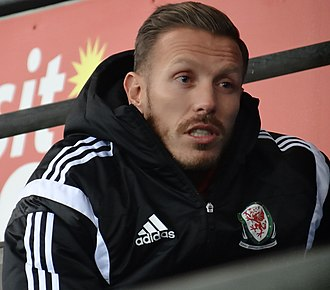 Craig Bellamy - Bellamy attending a Cardiff City match in 2014