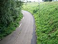 Craigavon Cycle Trail-Footpath near Tullygally Road Roundabout - geograph.org.uk - 530523.jpg