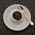 Cranberry sauce at Green Man pub, Takeley Street, Essex, England.jpg