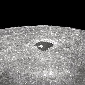 Tsiolkovskiy (crater) - Image: Crater Tsiolkovsky GPN 2000 001128
