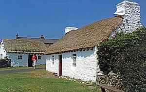 Cregneash - Image: Cregneash Folk Museum 1988
