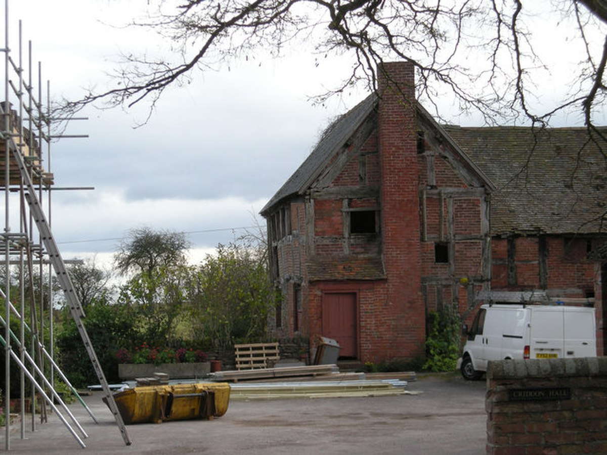 Criddon Hall have the builders in - geograph.org.uk - 767150.jpg