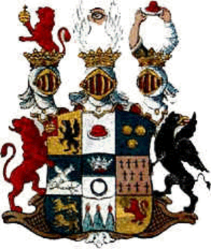 "Carl Johan Cronstedt - Cronstedt ""Coat of Arms"""