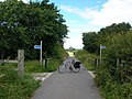 Crossing cycle routes - geograph.org.uk - 490325.jpg