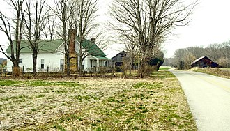 National Register of Historic Places listings in Coffee County, Tennessee - Image: Crouch ramsey farm tn 1