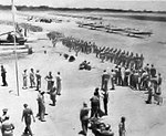 Cuero Army Airfield - Cadets awaiting Flying Training.jpg