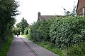 Cycle path, Myton, Warwick - geograph.org.uk - 1415066.jpg