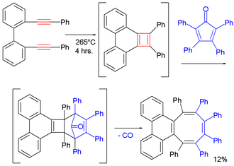 Cyclobutadiene - Image: Cyclobutadien Synth Dessy White