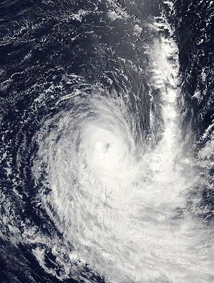 2006–07 Australian region cyclone season - Image: Cyclone Humba 2007 MODIS