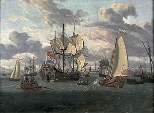 Czar Peter en route to the newly built fregate 'Peter and Paul'.jpg