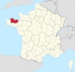 Département 22 in France.svg