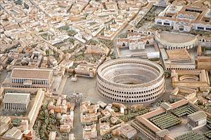 Italo Gismondi - Gismondi's model of Rome in the time of Constantine