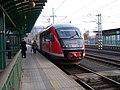 Děčín hlavní nádraží, Desiro do Bad Schandau (2013-10-21).jpg