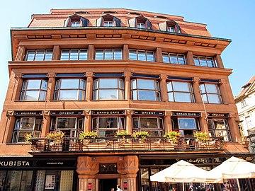 Entfernung Hauptbahnhof Prag Hotel Amigo City Center