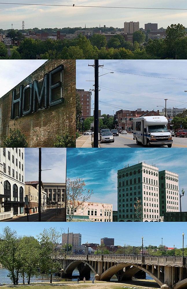 The population density of Danville in Virginia is 377.47 people per square kilometer (977.6 / sq mi)