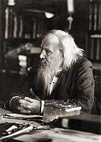 Dimitri Mendeleev em 1897.