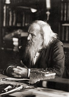 Dmitri Mendeleev 19th and 20th-century Russian chemist