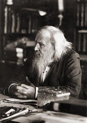 Dmitri Mendeleev Russian chemist