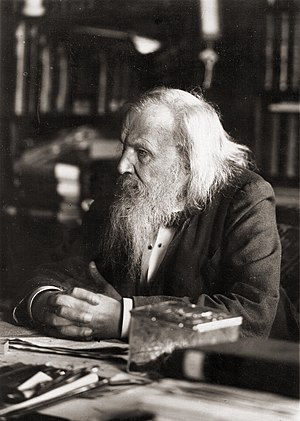 Mendelevium - The element was named after Dmitri Mendeleev.