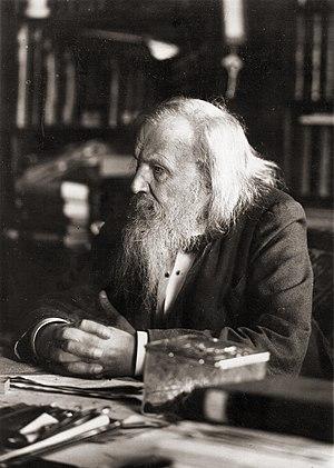 Mendeléiev, Dmitri Ivànovitx (1834-1907)