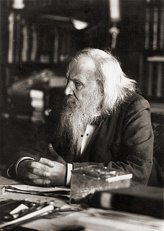 Atomic number - Russian chemist Dmitri Mendeleev created a periodic table of the elements that ordered them numerically by atomic weight, yet occasionally used chemical properties in contradiction to weight.